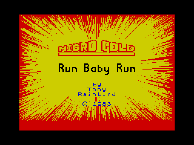 Run Baby Run image, screenshot or loading screen