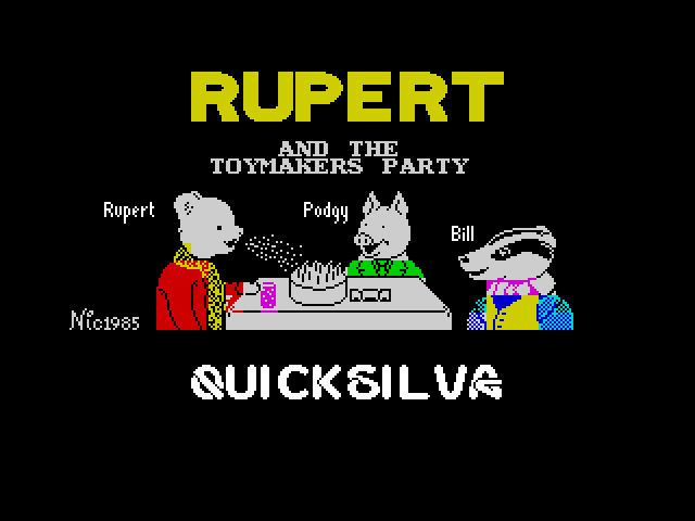 Rupert and the Toymaker's Party image, screenshot or loading screen