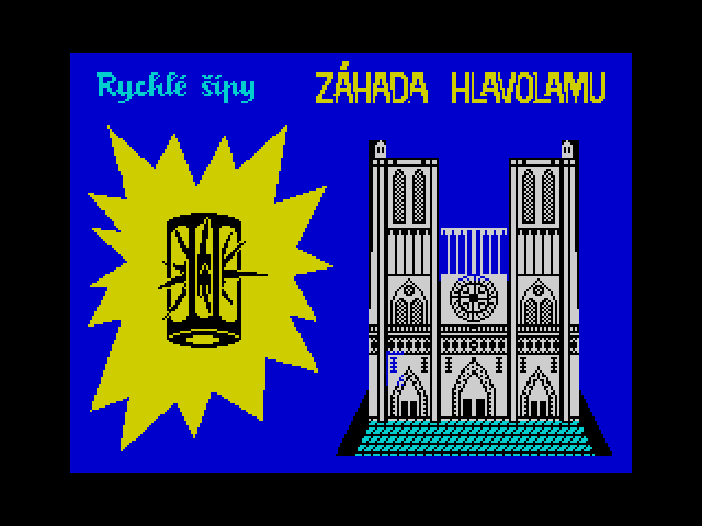 Rychlé šípy - Záhada hlavolamu image, screenshot or loading screen