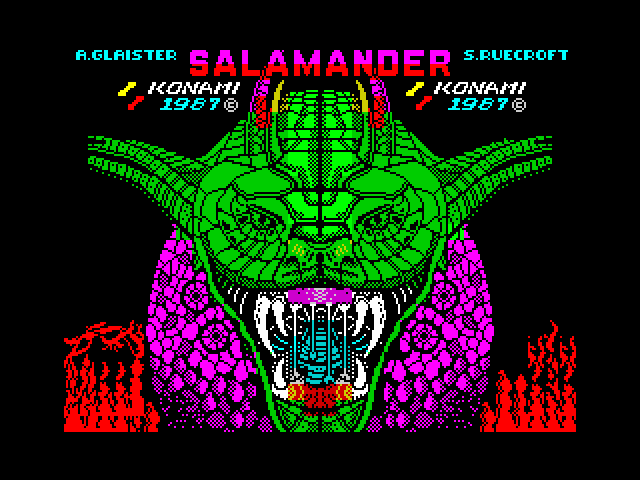 Salamander screen