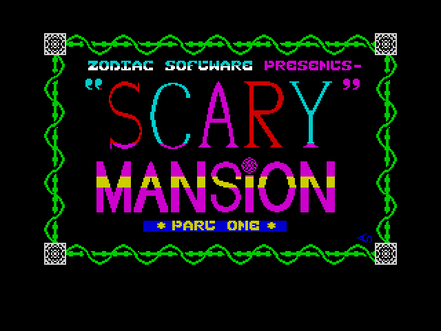 Scary Mansion screenshot