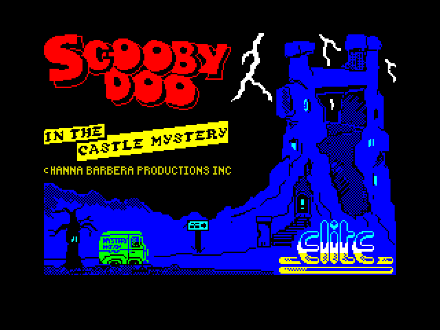 Scooby-Doo screen