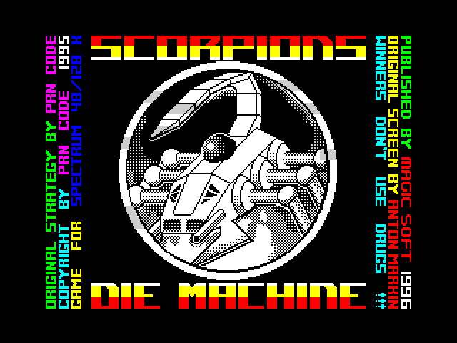 Scorpions: Die Machine image, screenshot or loading screen