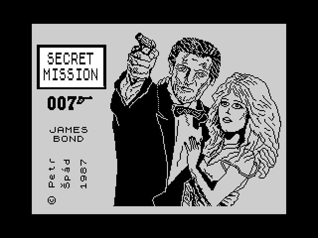 Secret Mission 007 James Bond screen