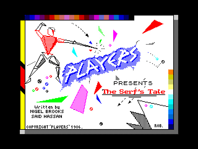 The Serf's Tale screen
