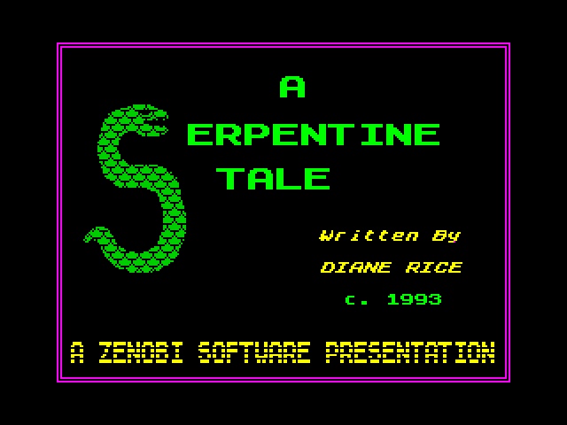 A Serpentine Tale screenshot