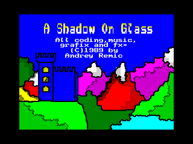 A Shadow on Glass image, screenshot or loading screen