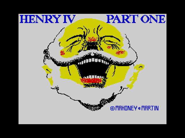 Shakespeare - Henry IV Part One image, screenshot or loading screen