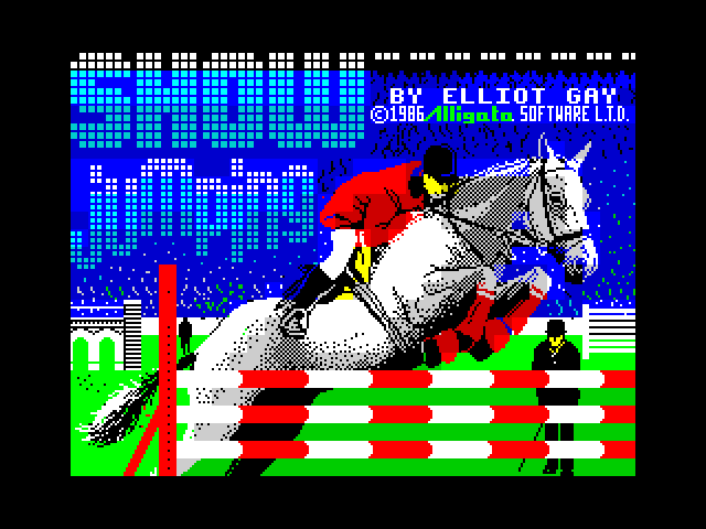Show Jumping screen