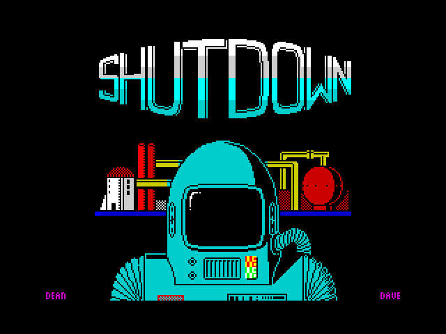 Shutdown image, screenshot or loading screen