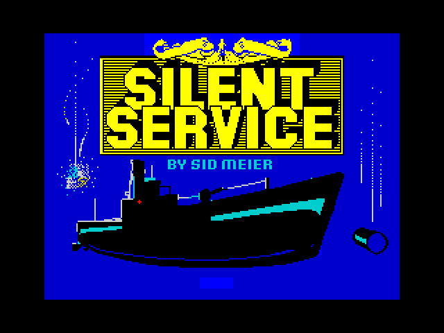 Silent Service image, screenshot or loading screen