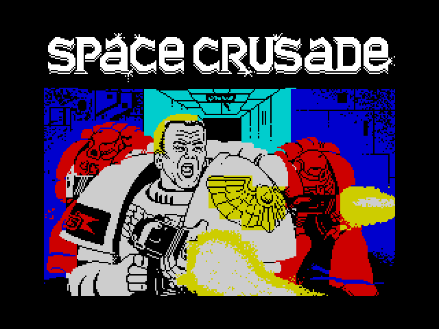 Space Crusade screen