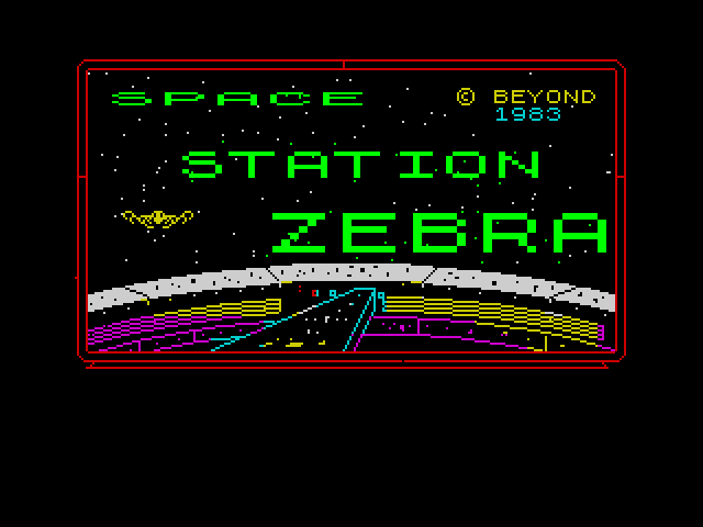 Space Station Zebra screenshot