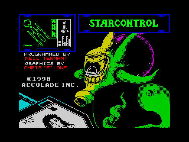 Star Control screen