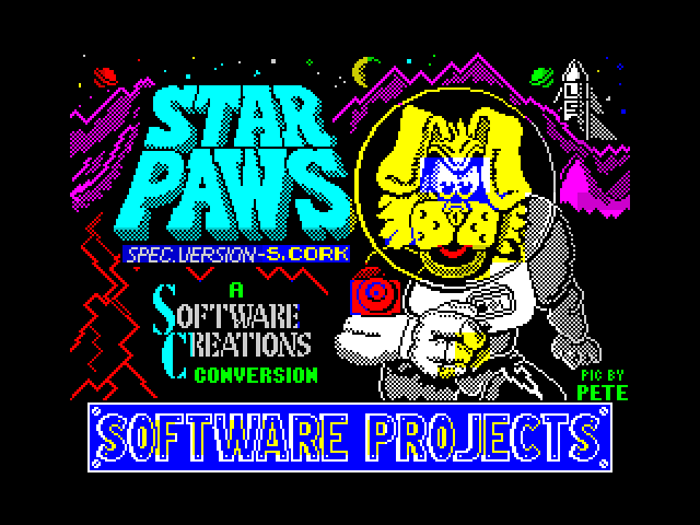 Star Paws screen