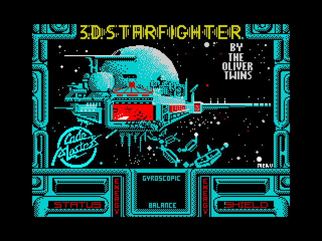 3D Starfighter screen