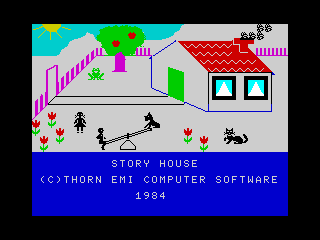 Story House screen