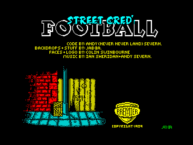 Street Cred' Football image, screenshot or loading screen