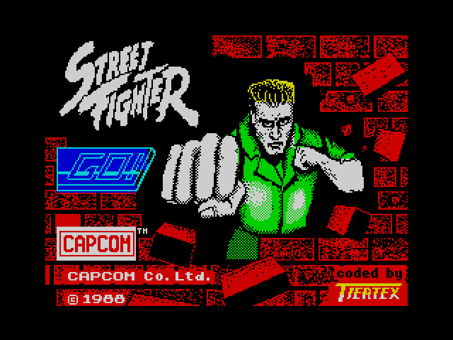 Street Fighter image, screenshot or loading screen