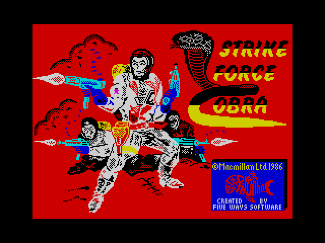 Strike Force Cobra screen