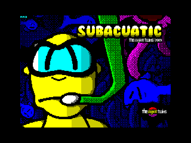 Subacuatic screen