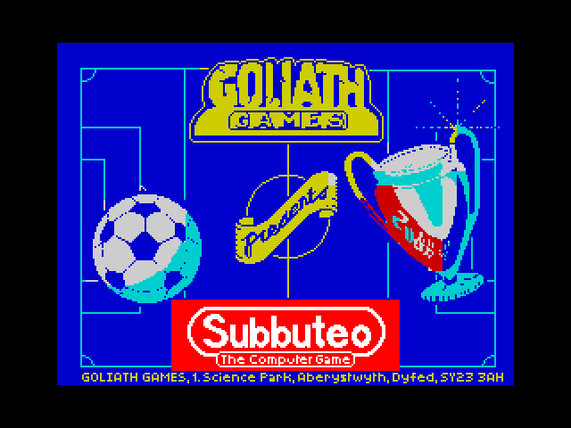 Subbuteo screen
