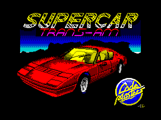 Super Car Trans Am screen