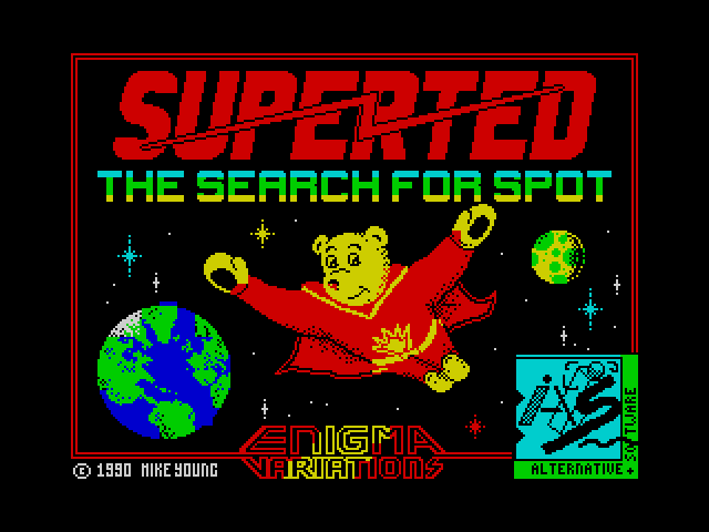 SuperTed: The Search for Spot screenshot