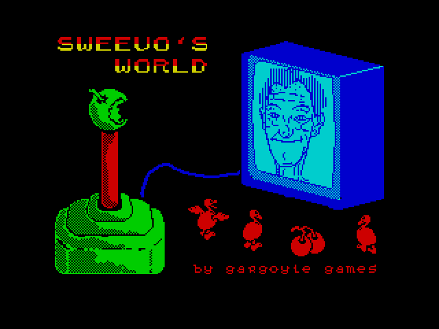 Sweevo's World screen