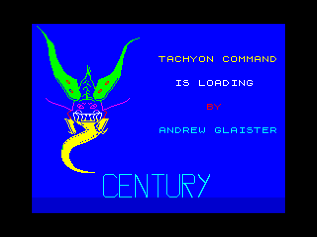 Tachyon Command screen