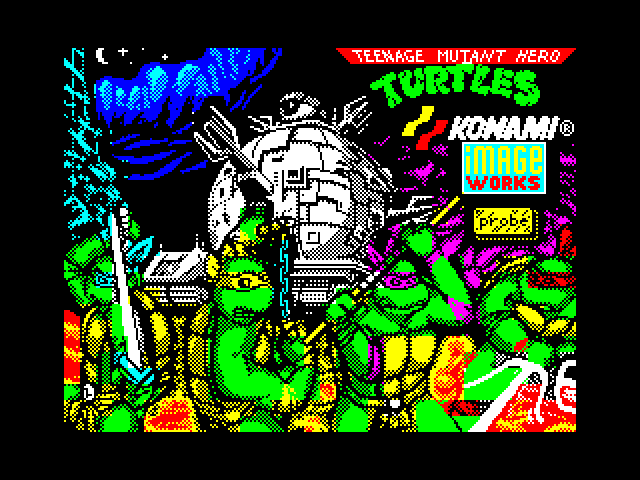 Teenage Mutant Hero Turtles - The Coin-Op screen