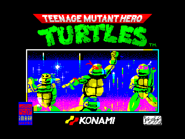 Teenage Mutant Hero Turtles screen