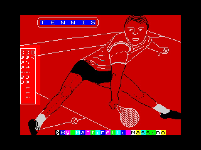 Tennis image, screenshot or loading screen