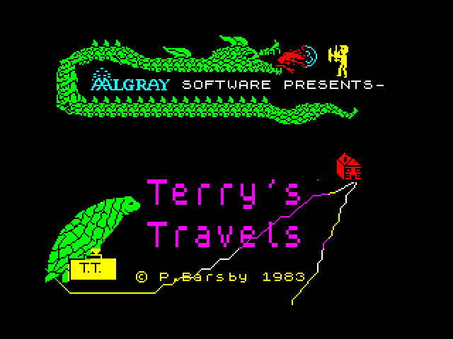 Terry's Travels screen