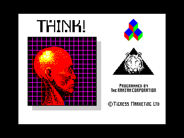 Think! screen