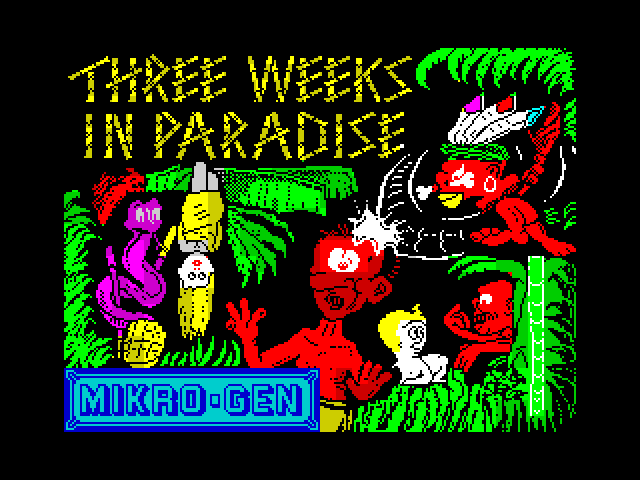 Three Weeks in Paradise image, screenshot or loading screen