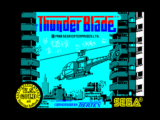 Thunder Blade image, screenshot or loading screen