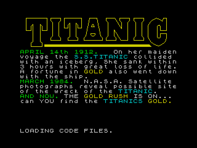 Titanic image, screenshot or loading screen