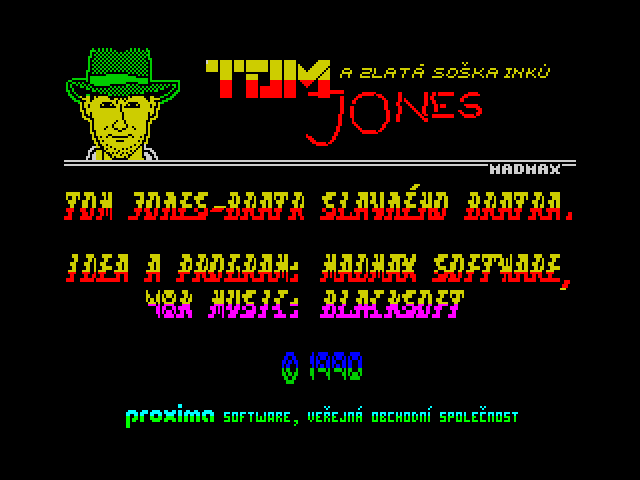 Tom Jones a zlatá soška Inků screenshot
