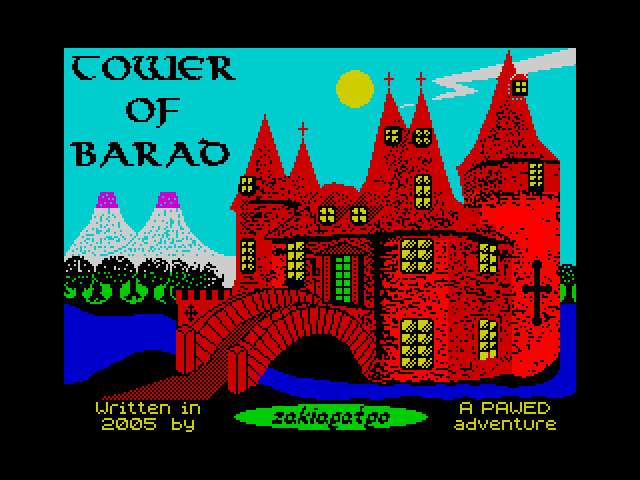Tower of Barad screen