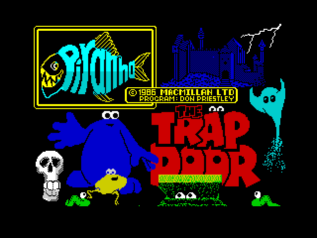 The Trap Door screen