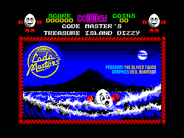 Treasure Island Dizzy screenshot