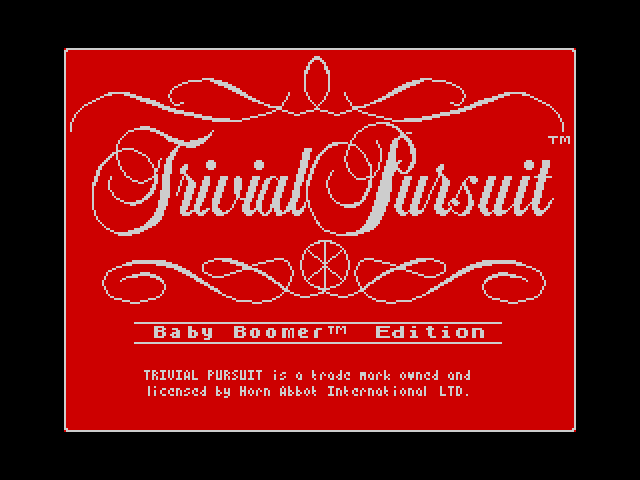 Trivial Pursuit: Baby Boomer Edition image, screenshot or loading screen