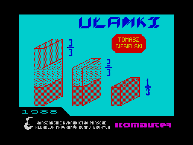 Ulamki screen