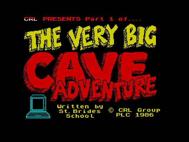 The Very Big Cave Adventure image, screenshot or loading screen