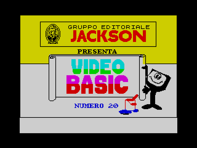 Video Basic issue 20 image, screenshot or loading screen