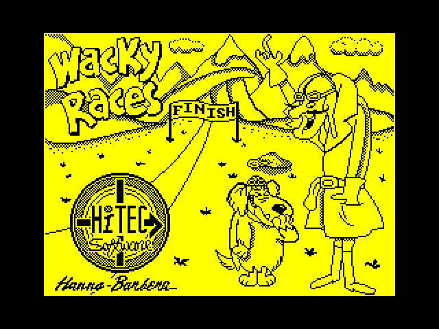 Wacky Races screenshot