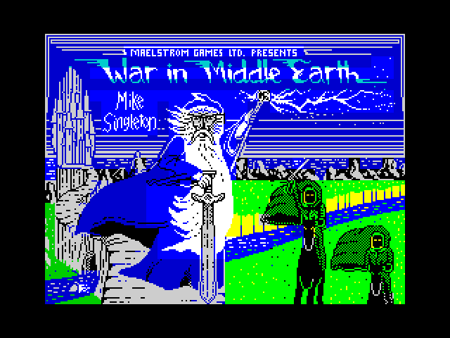 War in Middle Earth screen