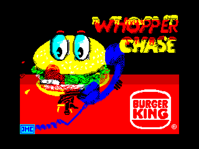 Whopper Chase image, screenshot or loading screen