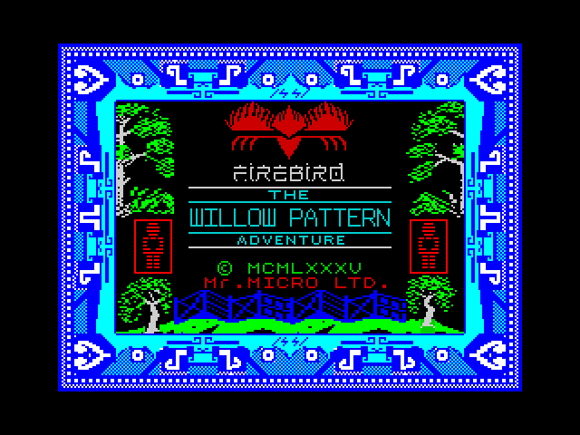 Willow Pattern image, screenshot or loading screen